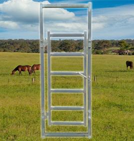 Horse Yard Man Gate