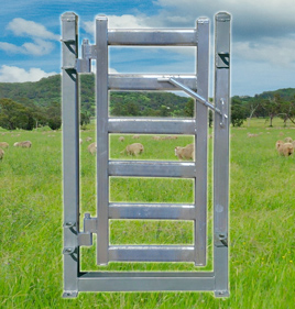 Sheep Yard Race Gate