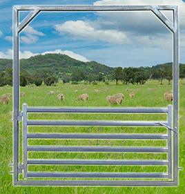 Sheep Yard Gate 2100 High Frame