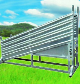 Sheep Yard Loading Ramp Adjustable