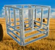 Heavy Duty Round Bale Hay Feeder