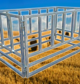 Heavy Duty Large Square Hay Bale Feeder