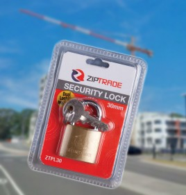 30mm ZIPTRADE Security Padlock