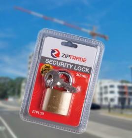 30mm ZIPTRADE Security Padlock