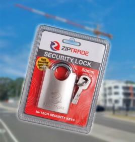 50mm ZIPTRADE Security Padlock