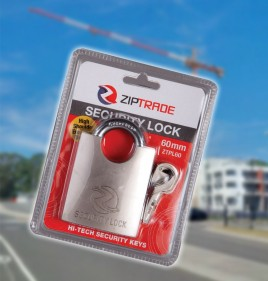 60mm ZIPTRADE Security Padlock